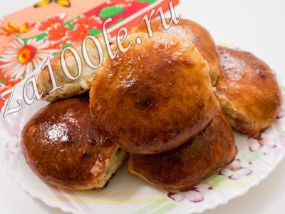 Рецепт приготовления Булочек с джемом.