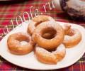 Пончики фото-видео рецепт