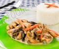 Рецепт приготовления куриного филе с грибами со сметаной