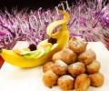 Рецепт жареных бананов во фритюре