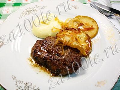 Рецепт Печенка по - берлински