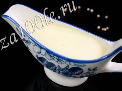Рецепт приготовления голландского соуса