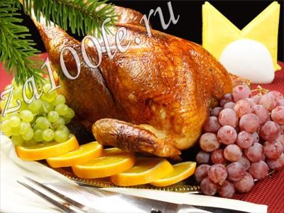 Рецепт рождественской индейки