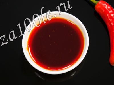 Рецепт соуса кочи-тирими.