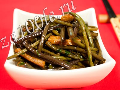 Рецепт косари-ча (салат из папоротника)