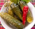 Рецепт приготовления малосольных огурцов