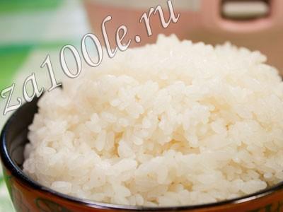 Рецепт приготовления рисовой каши