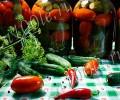 Рецепт маринованных огурцов с помидорами