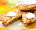 Рецепт картофельных оладии фаршированных грибами