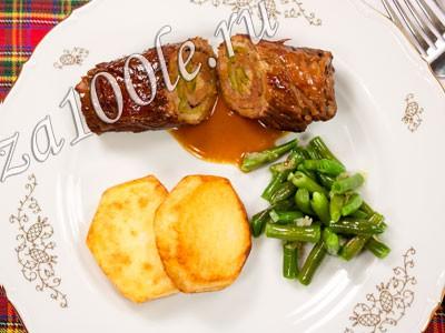 Рецепт приготовления говяжьих рулад