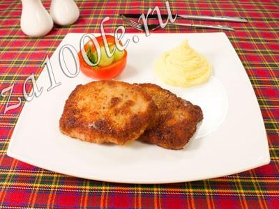 Рецепт приготовления ромштекса из свинины