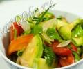 Рецепт салата из кабачков по-корейски