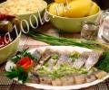 Рецепт приготовления сельди слабосоленой