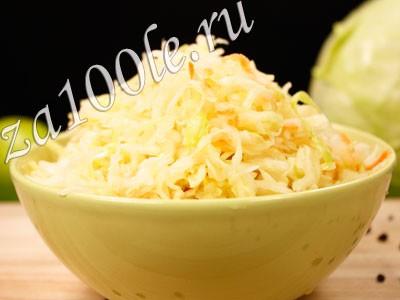 Рецепт приготовления квашеной капусты