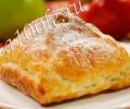 Рецепт приготовления слойки с яблоками