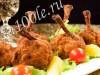 Рецепт приготовления жареных крылышек