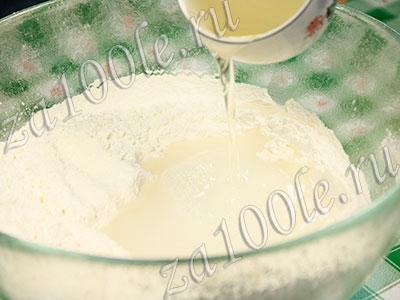 Тесто на кипятке для чебуреков рецепт пошагово