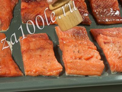 горбуша в духовке рецепт с морковкой и сыром
